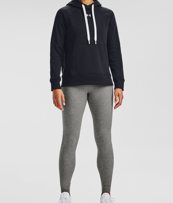 Mikina Under Armour Rival Fleece HB Hoodie-BLK (3)