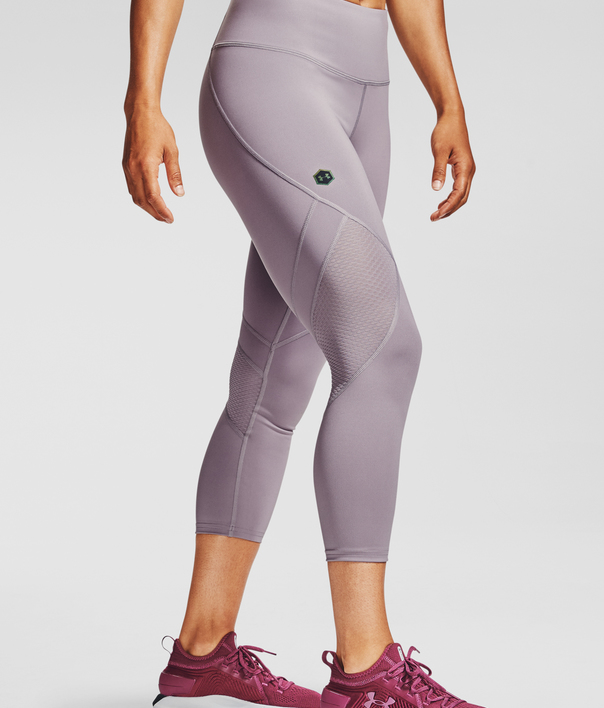 Legíny Under Armour UA Rush Crop-PPL (3)