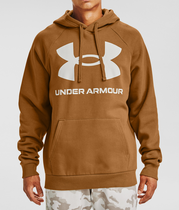 Mikina Under Armour Rival Fleece Big Logo HD-YLW (1)