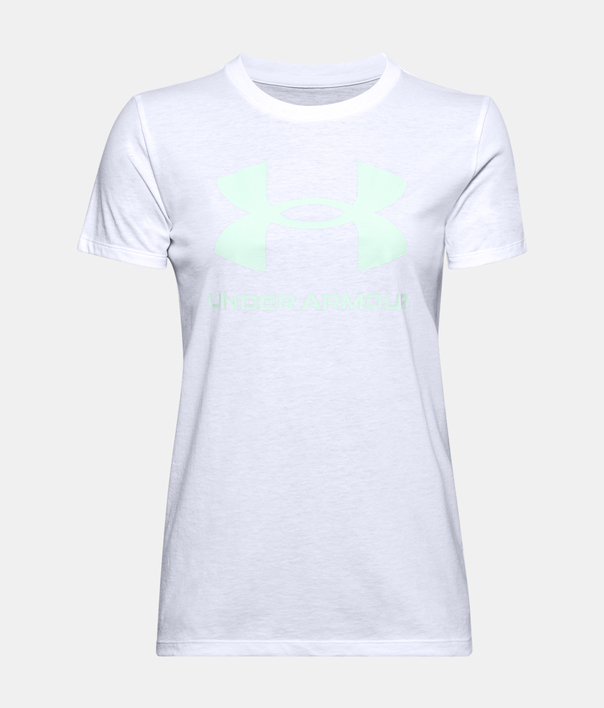 Tričko Under Armour Live Sportstyle Graphic SSC-WHT (1)