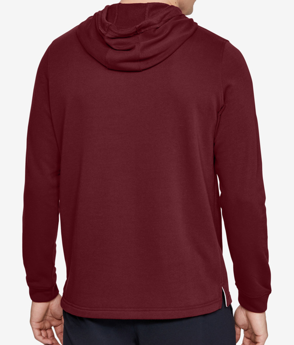 Mikina Under Armour SPORTSTYLE TERRY LOGO HOODIE-RED (2)