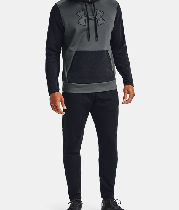 Mikina Under Armour AF Textured Big Logo HD-GRY (7)