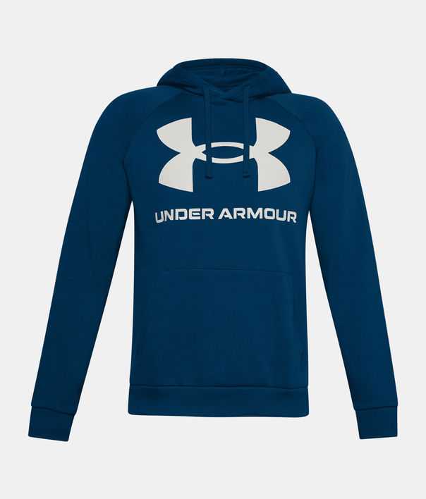Mikina Under Armour UA Rival Fleece Big Logo HD-BLU (1)