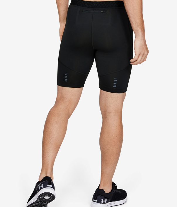 Kompresné šortky Under Armour Rush Run Half Tight-Blk (2)