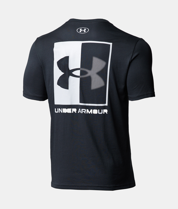 Tričko Under Armour UA BOX LOGO SS-BLK (4)