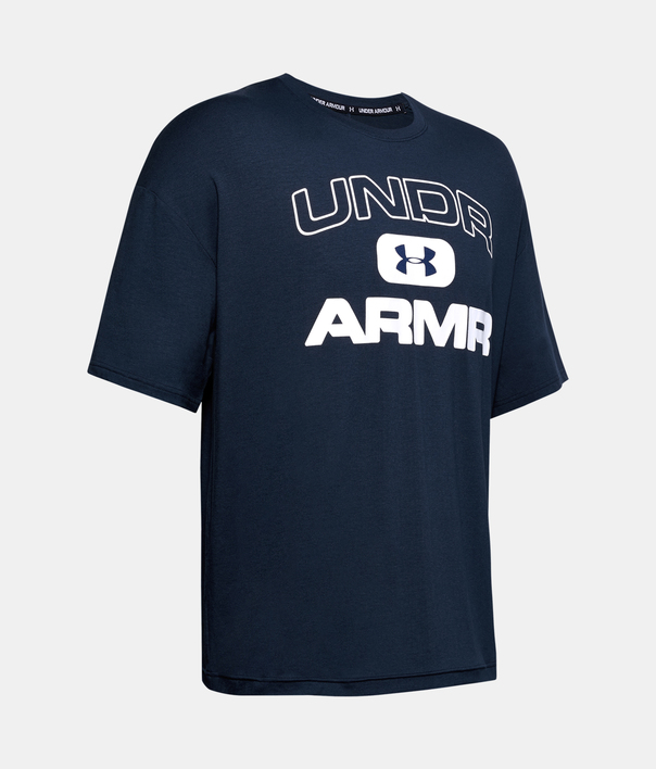 Tričko Under Armour  MOMENTS SS TEE-NVY (3)