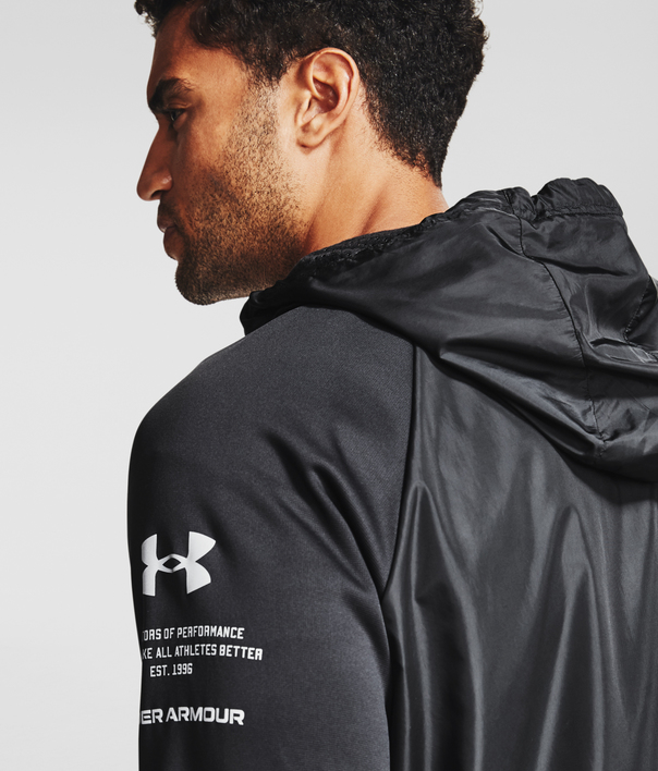 Mikina Under Armour UA AF Storm FZ HD-BLK (2)