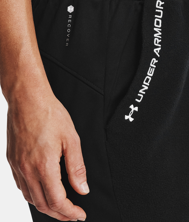Nohavice Under Armour Recover Fleece Pants-BLK (6)