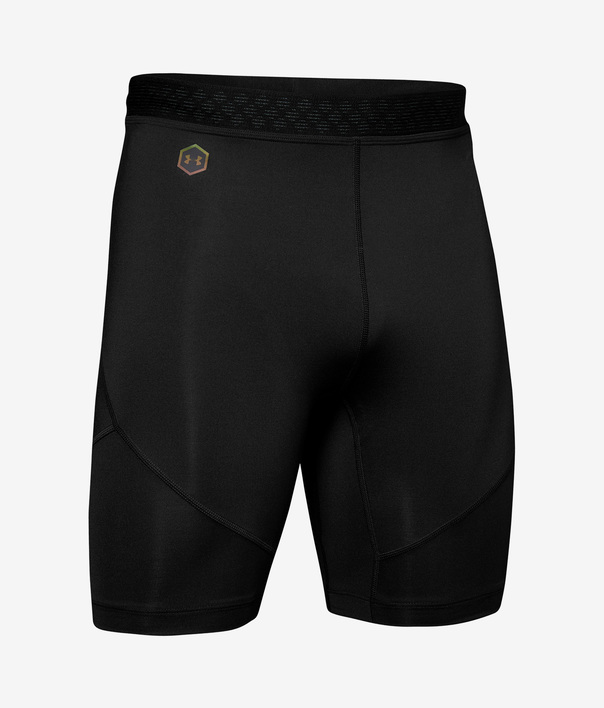 Kompresné šortky Under Armour Rush Run Half Tight-Blk (3)