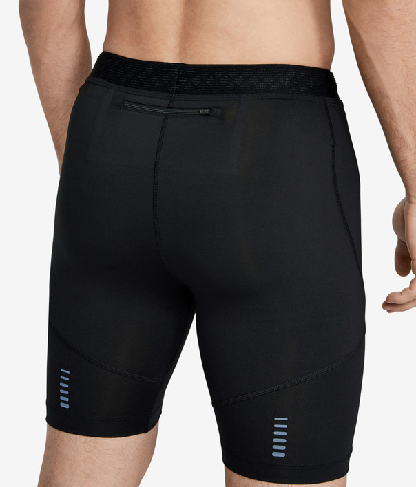 Kompresné šortky Under Armour Rush Run Half Tight-Blk (6)