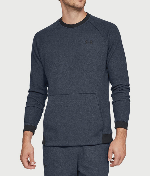 Mikina Under Armour Unstoppable 2X Knit Crew (1)