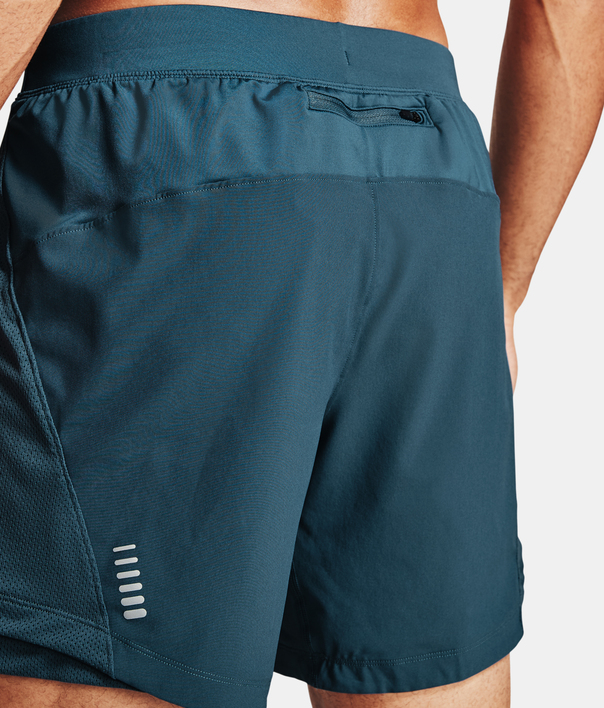 Kraťasy Under Armour QLIFIER SPEEDPOCKET 7'' SHORT-BLU (6)