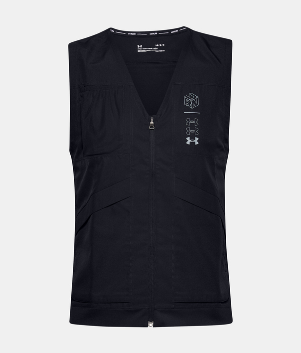 Vesta Under Armour M UA Run Anywhere Vest-BLK (3)